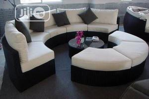 Nice Patio/Indoor/Outdoor Rattan Curved Modular Furniture | Furniture for sale in Lagos State, Ikeja