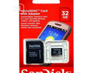Sandisk 32GB Micro SDHC Memory Card   Accessories for Mobile Phones & Tablets for sale in Lagos State