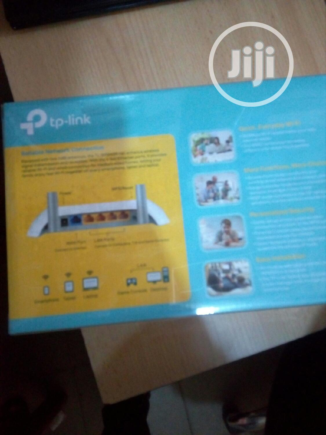 Tp-link 300mbps Wireless Router | Networking Products for sale in Ikeja, Lagos State, Nigeria