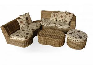 Aesthetic Indoor/Outdoor Rattan-woven Sofa Furniture Set | Furniture for sale in Lagos State, Ikeja