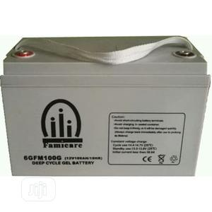 Famicare Deep Cycle Gel Battery 100ah   Solar Energy for sale in Lagos State, Victoria Island