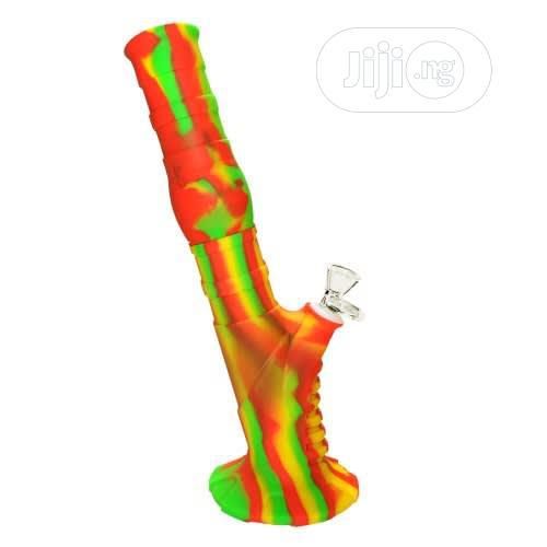 Silicone Bong - 2 Piece - Green