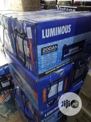 200ah Luminous India Battery   Solar Energy for sale in Lagos State, Ojo
