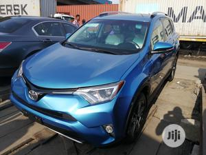Toyota RAV4 XLE AWD (2.5L 4cyl 6A) 2017 Blue | Cars for sale in Lagos State, Apapa
