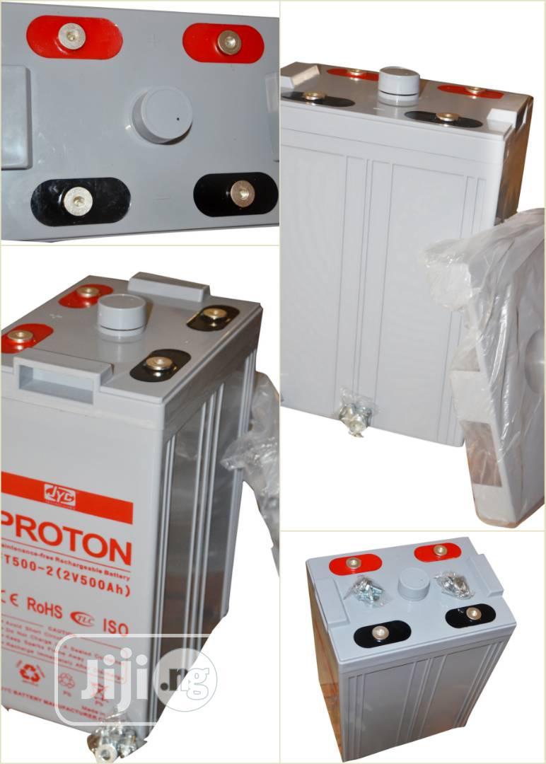 500ah 2v Proton Battery | Solar Energy for sale in Ojo, Lagos State, Nigeria