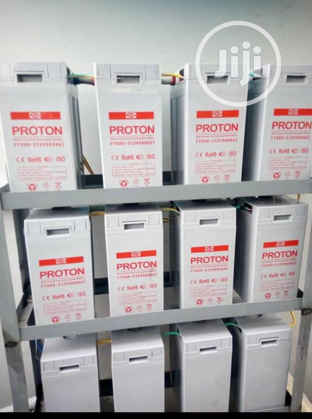 500ah 2v Proton Battery