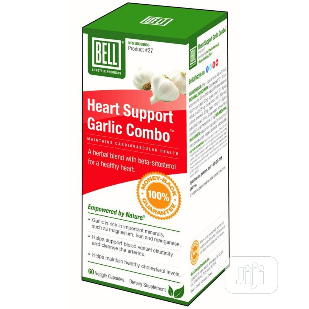 Heart Support Garlic Combo -Maintains Cardiovascular Health.