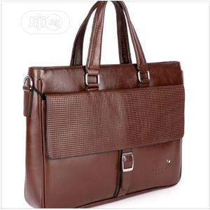 Pure Leather Mont Blanc Officials Bag Available as Seen Order Yours | Bags for sale in Lagos State, Lagos Island (Eko)