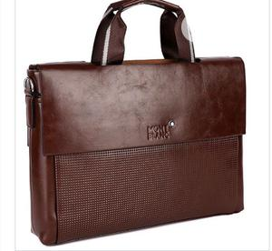 Mont Blanc Pure Leather Office Bag Available as Seen Order Yours Now   Bags for sale in Lagos State, Lagos Island (Eko)