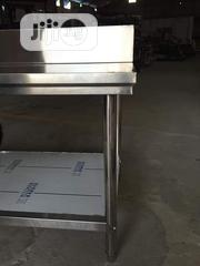 Srainless Steel Work Table With Under Shelf | Restaurant & Catering Equipment for sale in Lagos State, Ojo