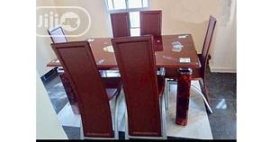 Quality Strong Six Seater Tinted Glass Dining Table | Furniture for sale in Enugu State, Enugu