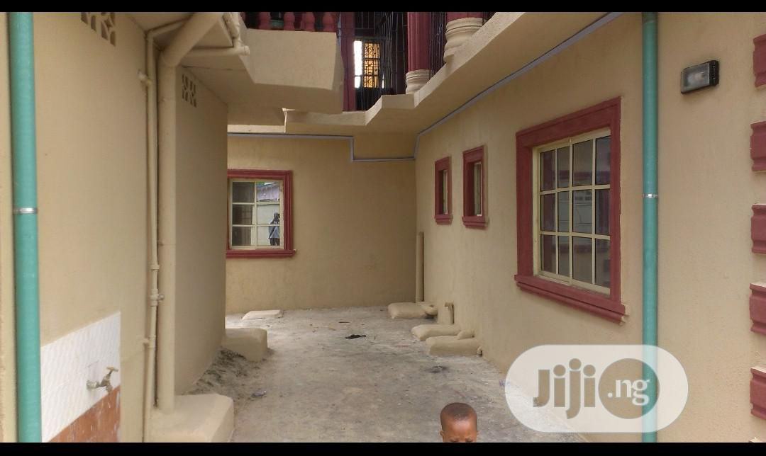 Archive: Standard & Clean 3 Flats Of 2 Bedroom & 4 Mini Flats At Victory Estate Iba For Sale.