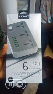 LDNIO 6 Usb 3 Socket Power Supply   Computer Hardware for sale in Lagos State, Ikeja