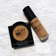 Lagirl Matte Powder + Pro Matte Foundation | Makeup for sale in Lagos State