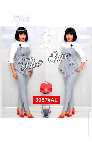 Ladies Formal Check Trouser and Top | Clothing for sale in Lagos State, Ikeja