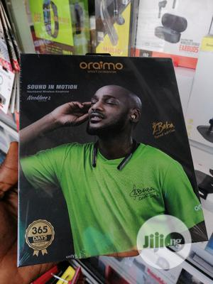 Oraimo Necklace 2 Headphones OEB-E74D 2baba Tuned Edition | Headphones for sale in Lagos State, Ikeja