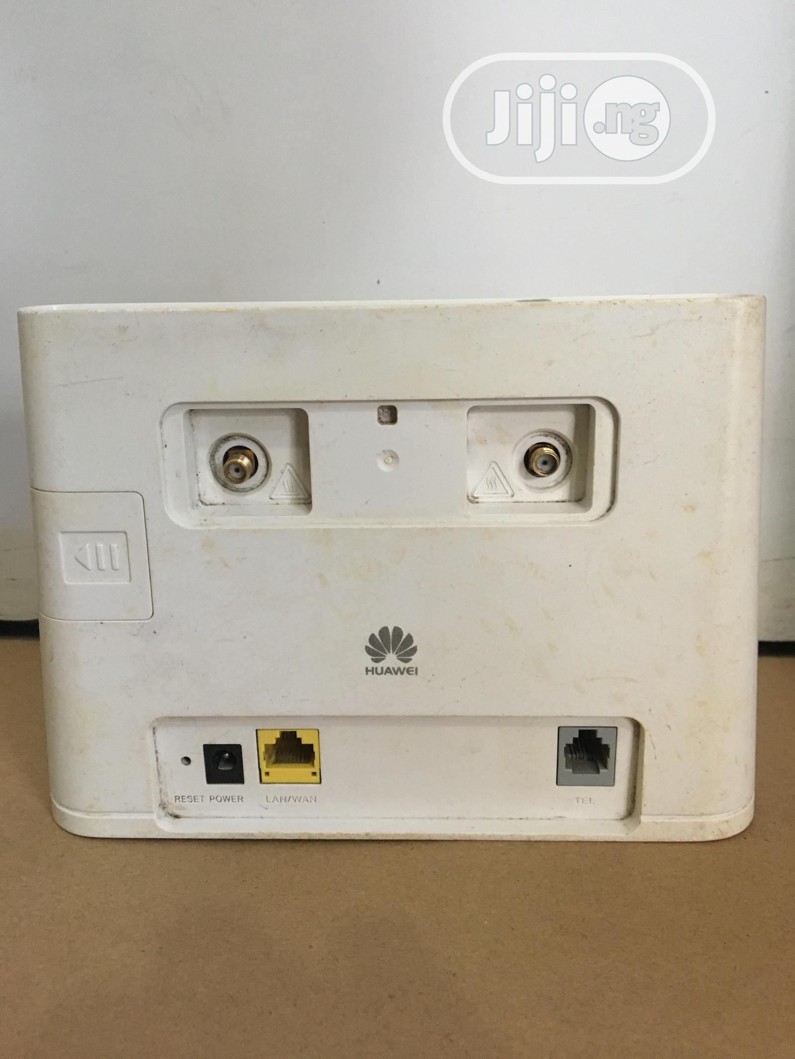 Swift Huawei Unlocked 4G LTE CPE Router for All Networks   Networking Products for sale in Ikeja, Lagos State, Nigeria