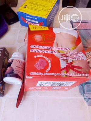 Capsicum Slimming Body Cream | Bath & Body for sale in Lagos State, Ikeja