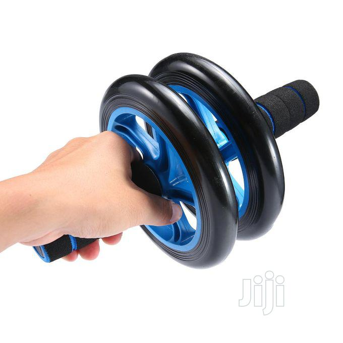 Ab Wheel For Exercise [Abdominal Exercise] | Sports Equipment for sale in Surulere, Lagos State, Nigeria