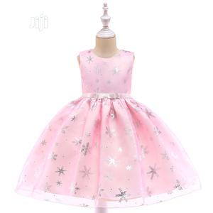 Girls Pink Sparkle Dress   Children's Clothing for sale in Lagos State, Surulere