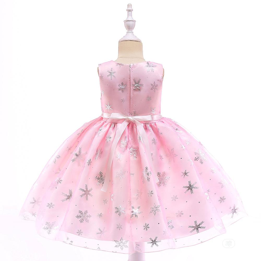 Girls Pink Sparkle Dress | Children's Clothing for sale in Surulere, Lagos State, Nigeria