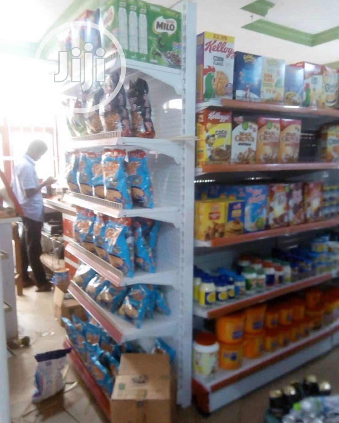 Durable And Affordable High Quality Supermarket Display Shelves | Store Equipment for sale in Lagos Island (Eko), Lagos State, Nigeria