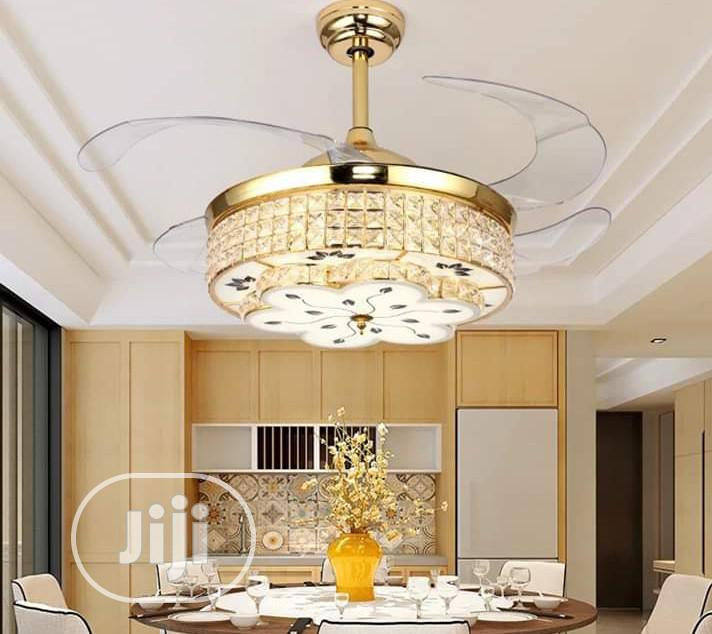 Chandelier Lights With Fan