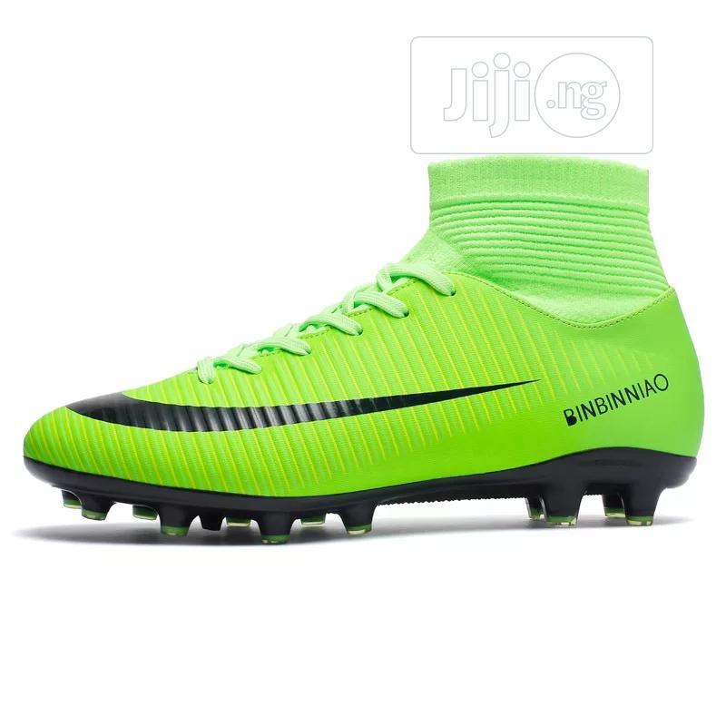 Outdoor Men Boys Soccer Shoes Football