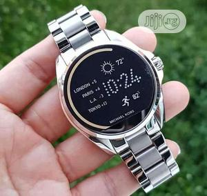 Michael Kors Silver Smart Watch | Smart Watches & Trackers for sale in Lagos State, Lagos Island (Eko)