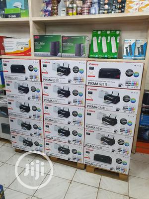 Canon PIXMA G2411 Multi Functional Printer + Extra Black Ink | Printers & Scanners for sale in Abuja (FCT) State, Wuse 2