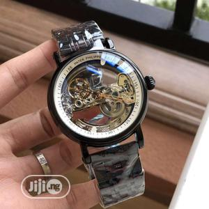 Patek Philippe Automatic Skeleton Black Chain Watch   Watches for sale in Lagos State, Lagos Island (Eko)