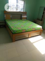 6×5 Bed Frame Wt Mattress | Furniture for sale in Lagos State, Ojo