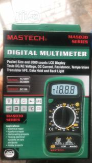Mastech 830L Digital Multimeter | Measuring & Layout Tools for sale in Lagos State, Ojo