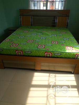 6×5 Bed Frame Wt Original Mattress   Furniture for sale in Lagos State, Ojo