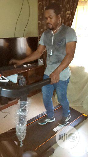 2hp German Machine Treadmill With Massager With Twister And Aerobic   Sports Equipment for sale in Lagos State, Surulere