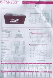 Kstar Deep Cycle Battery 12v200ah One Year Warranty | Solar Energy for sale in Lagos State, Ikeja
