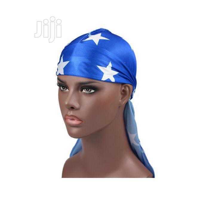 Archive: Durag Silky Durag-- Pirate Blue
