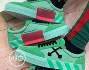 Off White Vulc Sneaker Green | Shoes for sale in Lagos State, Ikeja