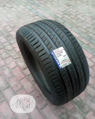 Archive: Michelin 275/40 R20