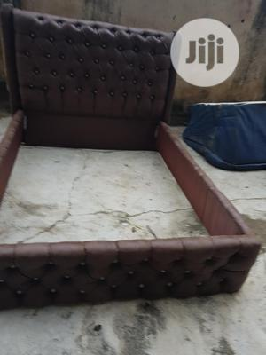 4x6 Upholstery Bedframe | Furniture for sale in Lagos State, Ojo