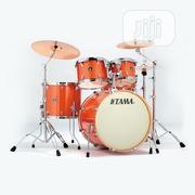 Tama Superstar Hyper-Drive Bright Orange Sparkle 5-Piece Drum Set | Musical Instruments & Gear for sale in Lagos State, Surulere