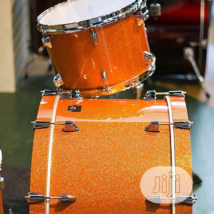 Tama Superstar Hyper-drive Bright Orange Sparkle 5-piece | Musical Instruments & Gear for sale in Surulere, Lagos State, Nigeria