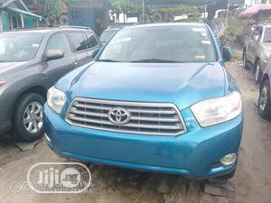 Toyota Highlander 2008 4x4 Blue | Cars for sale in Lagos State, Apapa
