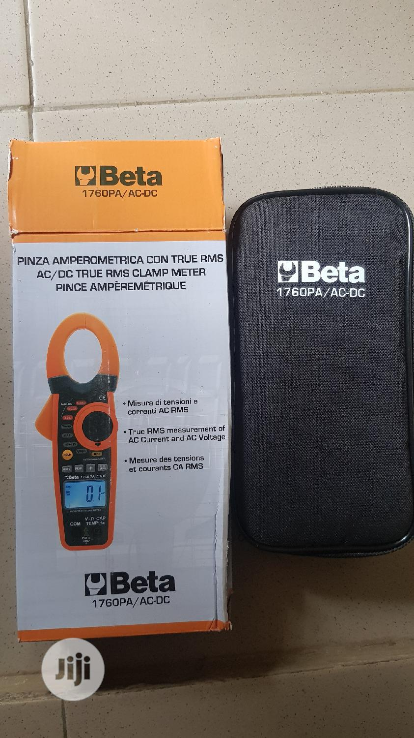Beta Ac/Dc Digital Clamp Meter