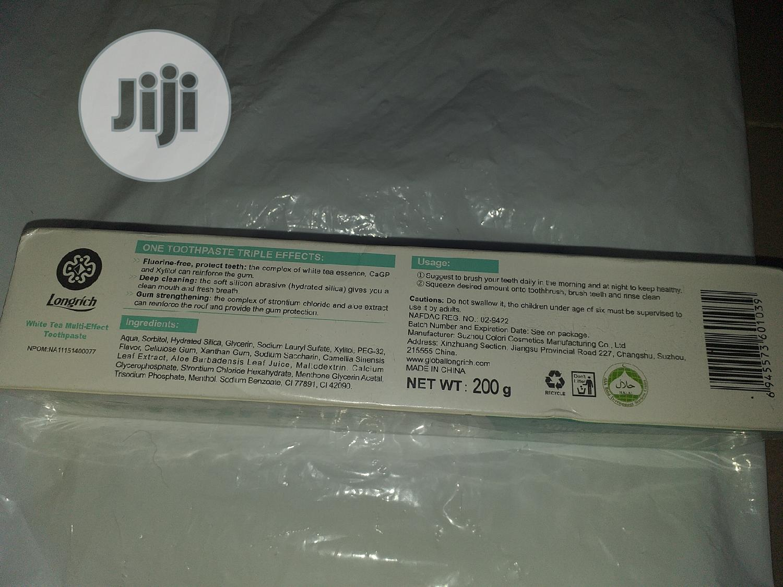 Longrich Toothpaste 200G | Bath & Body for sale in Ifako-Ijaiye, Lagos State, Nigeria