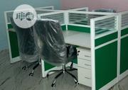 This Is High Quality Brand New Workstation Table Four Seaters   Furniture for sale in Lagos State, Lekki Phase 1
