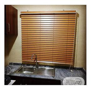 50mm Slat Wooden Window Blind   Home Accessories for sale in Lagos State, Ikeja