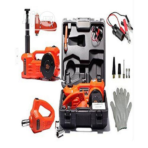 3 in 1 Electric Car Jack, Electric Impact Wrench and Air Pum | Vehicle Parts & Accessories for sale in Lokogoma, Abuja (FCT) State, Nigeria