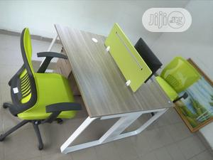 Work Station With 2 Units And Executive Mesh Chairs | Furniture for sale in Lagos State, Ikeja