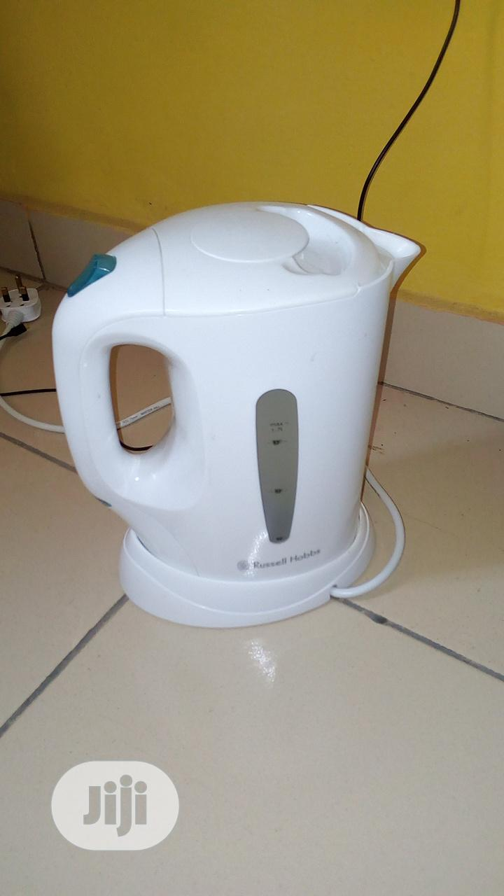 Archive: Russell Hobbs Electric Hug White Color Direct UK Use